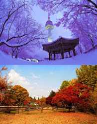 Winter dan Autum di Korea Selatan