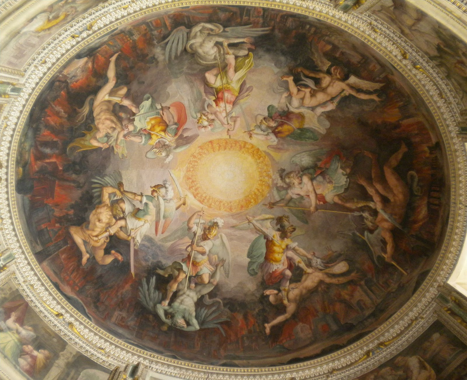 angels and demons battle art - photo #47