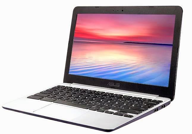 Asus C201 Chromebook memiliki prosesor Rockchip RK3288 ARM Cortex-A17 quad-core, 2GB RAM, 16GB penyimpanan, kamera VGA, dan 11,6 inci, layar 1366 x 768 pixel. Laptop adalah 0,7 inci tebal dan berat sekitar 2,2 kilogram, dan Asus mengatakan akan bertahan hingga 13 jam pada biaya. Ini diharapkan akan mulai dikirimkan pada bulan Mei.