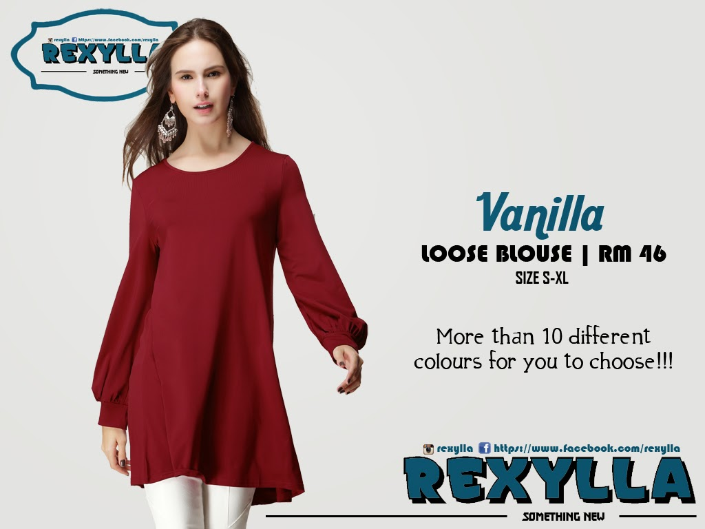 vanilla, loose blouse, vanilla collection
