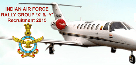 Telangana TS Air Force Recruitment For Rally Group X and Y Airman Vacancies Details, Indian Air Force Recruitment 2015 Rally Trade Notification for Telangana State. TS Air Force Recruitment Rally 2015 Group X and Y Trades Exam held from 8th-14th September 2015