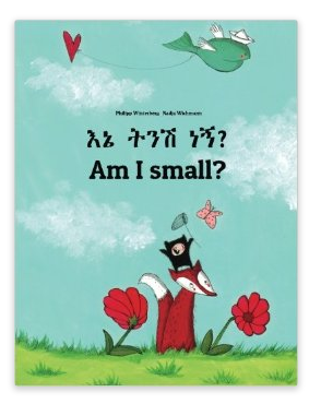 http://www.amazon.com/Am-small-Childrens-English-Amharic-Bilingual/dp/1494912104/