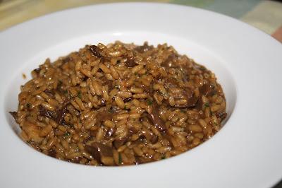 risotto funghi porcini secchi ricetta