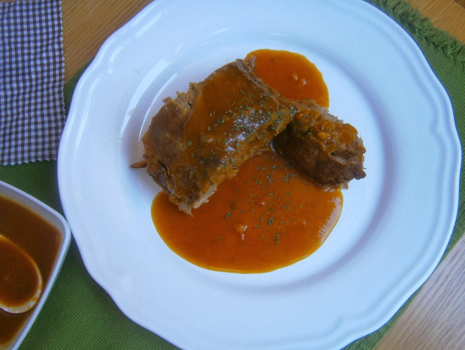 Como Cocinar Un Redondo De Ternera | Redondo De Ternera Al Oporto La Cocina De La Abuela