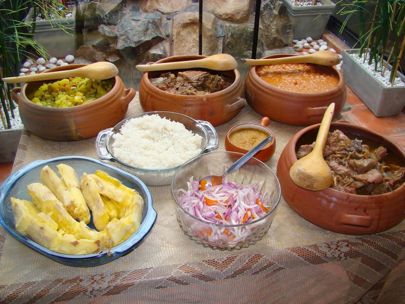 Patrimonio natural y cultural del per patrimonio intangible for Elementos de cocina para chef