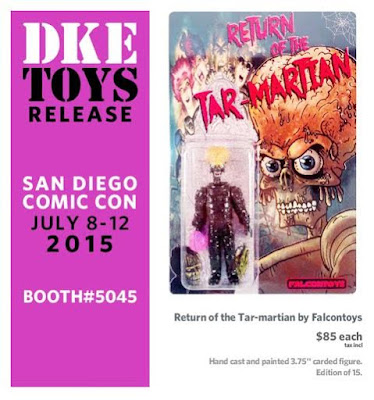 San Diego Comic-Con 2015 Exclusive Return of the Tar-martian Resin Figure by Falcontoys