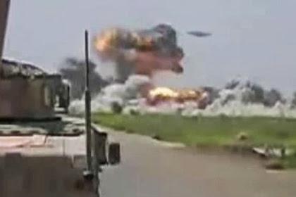 Pesawat Diduga UFO, Bombardir Markas Taliban