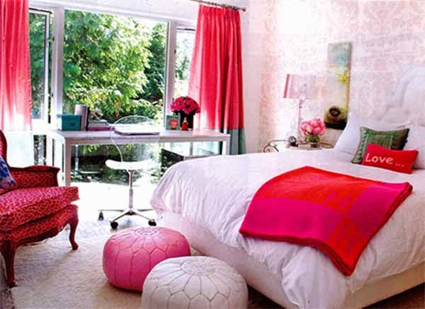 Teen's Bedroom Interior Design Ideas