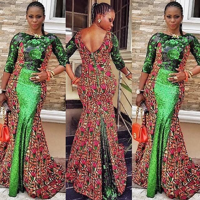 Creative Ankara Gown Style Dezango Fashion Zone