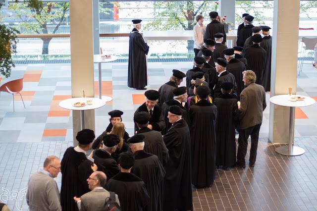 in line to congratulate