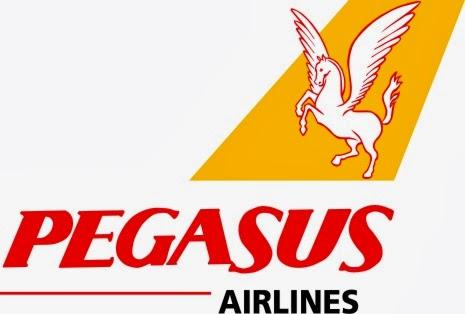 Logo της αεροπορικής εταιρίας Pegasus