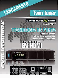 EV970 Atualização EvolutionBox EV 970RJ Slim 31/08