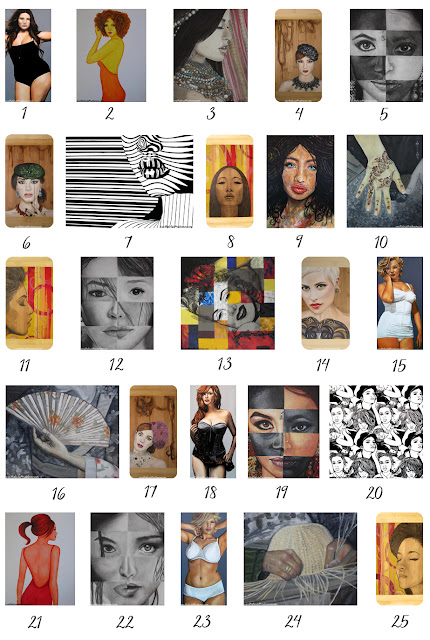 art contest, facebook contest, art print free, international womens day