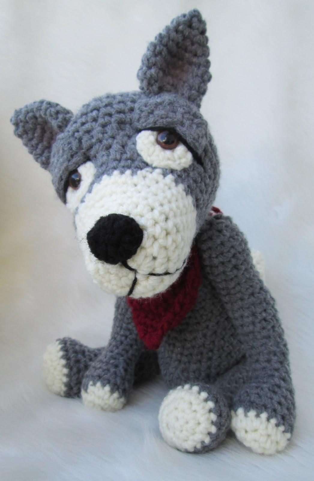 Crochet Amigurumi Wolf : Teris Blog: New Crochet Pattern, Cute Wolf