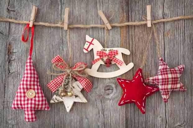 Dekoracje świąteczne wykonane samodzielnie. Inspiracja i pomysł.
