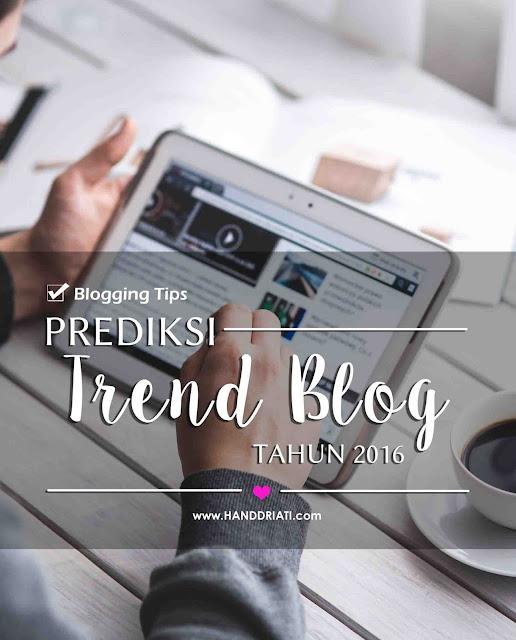 Tren Blog 2015 - 2016