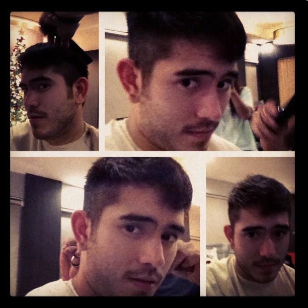 Gerald Anderson turns 'bad boy'; new hairstyle (Photos)