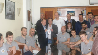 Συγχαρητήρια κι από κοντά στον Α.Σ. Καστοριάς  από τον Αντιπεριφερειάρχη