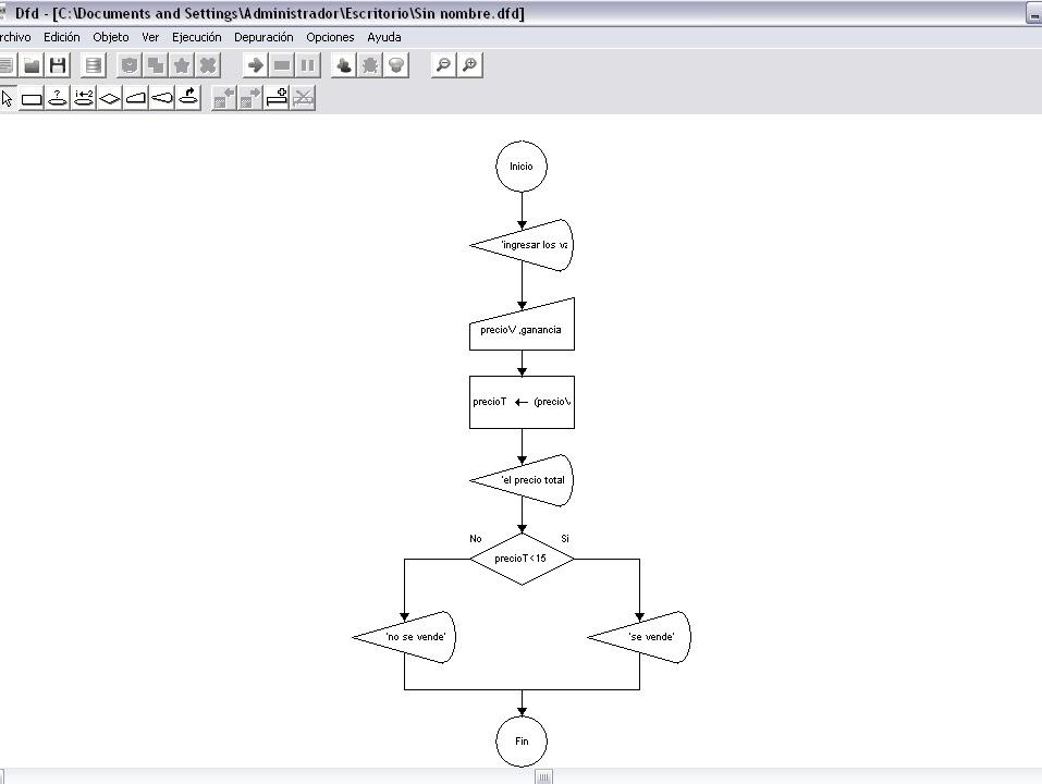 Tics aplicadas a la ingeniera aeronutica diagramas de flujo con 3 realizar un diagrama de flujo que muestre el costo final de un paquete de 5 productos sabiendo que el vendedor pondra los precios y aumentara el igv ccuart Images