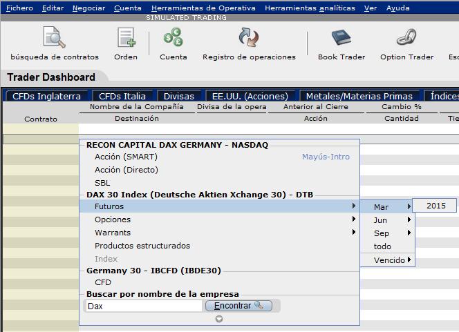Plataforma de interactive brokers