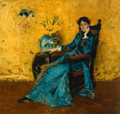 William Merritt Chase (American 1849-1916 ) Dora Wheeler 1882-1883