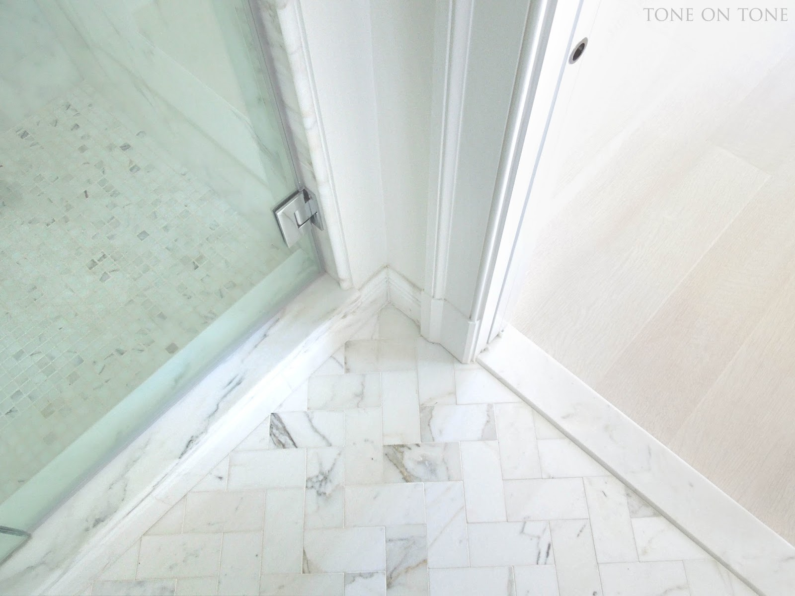 Tone on Tone: Small Bathroom Renovation