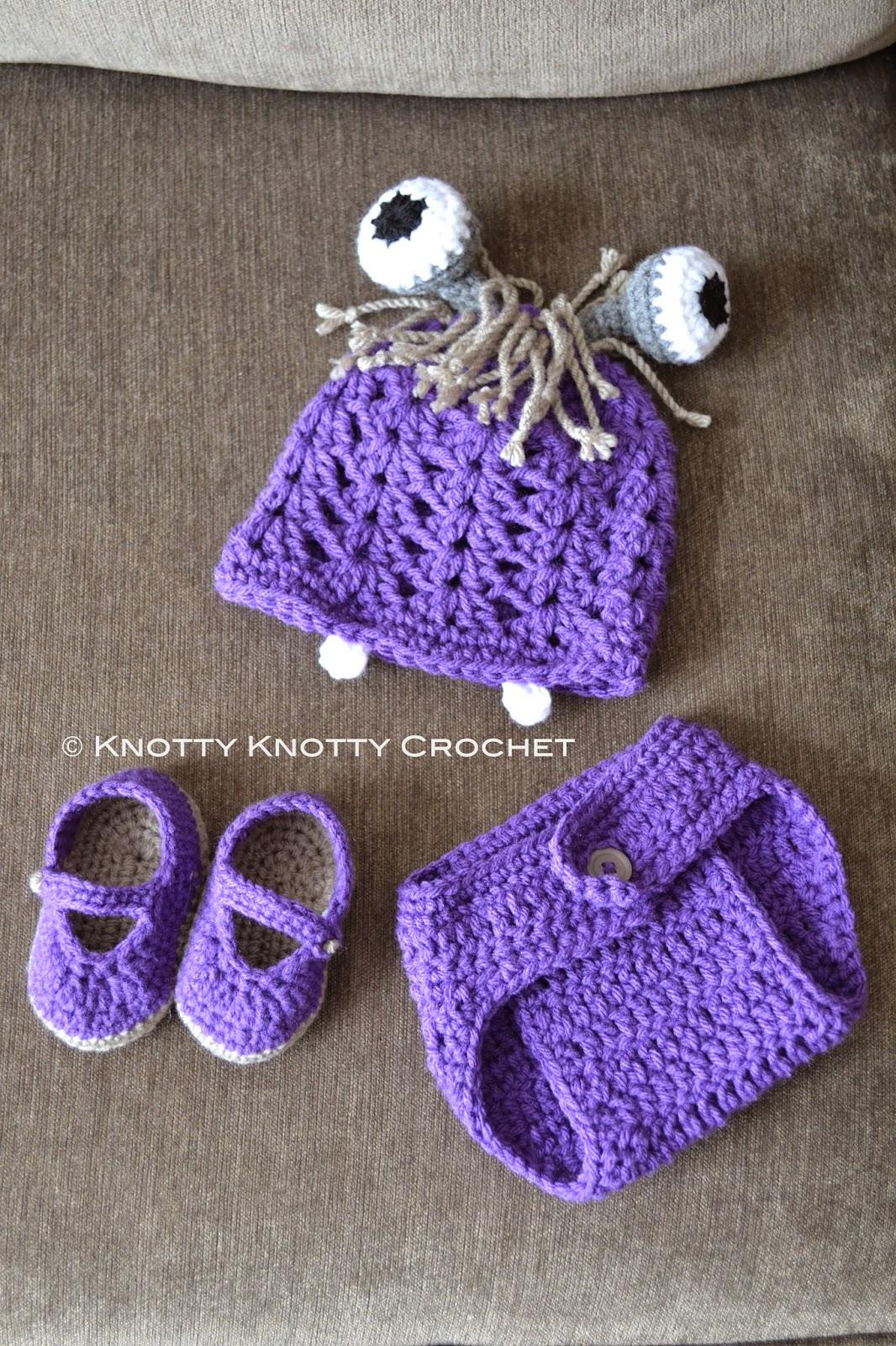Knotty Knotty Crochet Boo Inspired Three Piece Set Free Pattern