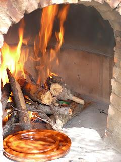 seasoning Spanish terracotta