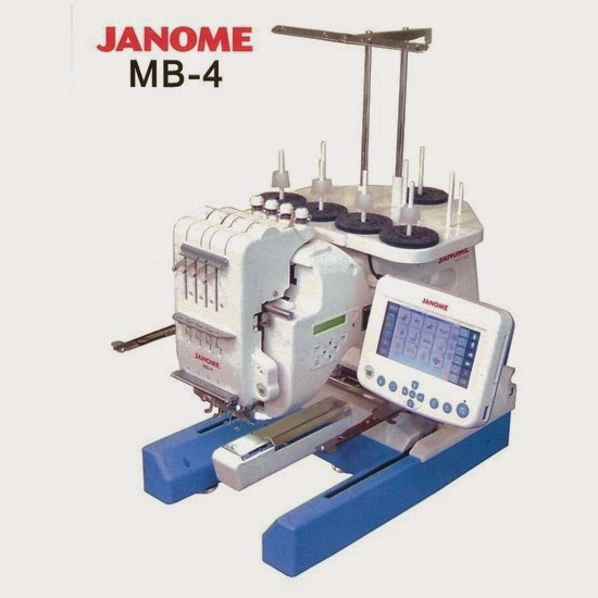 Fahad baokbah trading est features janome mb4 for Janome memory craft 350e manual