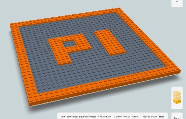 Pi em Lego virtual