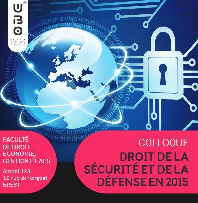 Droit de la sécurité et de la défense en 2015