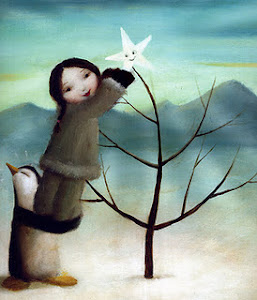 LINDA, ESTA PRENDA  DE NATAL 2011. Pintura de Stephen Mackey.