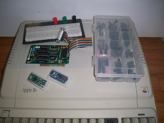 clean Apple IIe platinum