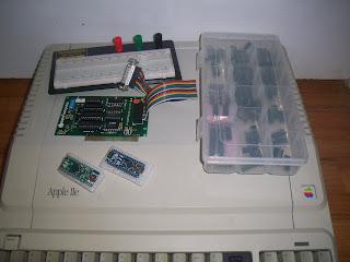clean Apple IIe platinum