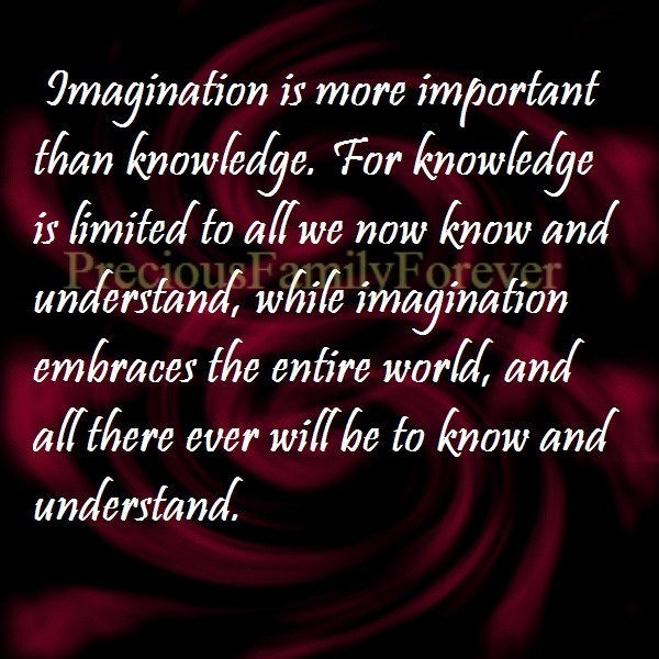 "imagination is important than knowledge essay Imagination is better than knowledge - mind essay example ""imagination is more important than knowledge - imagination is."