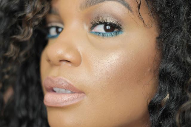 natural makeup nude lips black girl woman