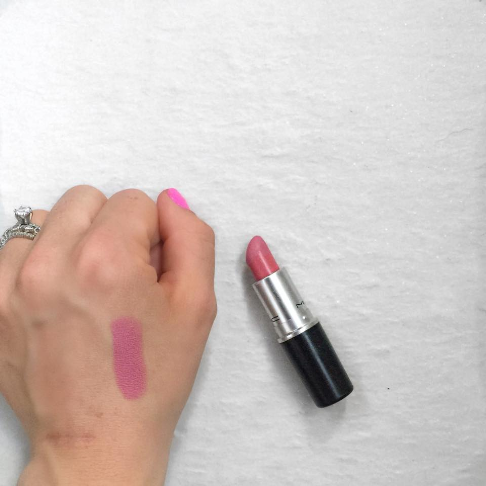 "mac lipstick ""pink plaid"""