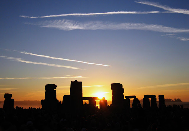 Summer Sunset at Stonehenge