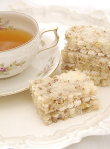 My Banana Nut Bread Tea Sandwich was featured on Country Living
