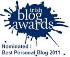 Irish Blog Awards 2011 - Shortlisted