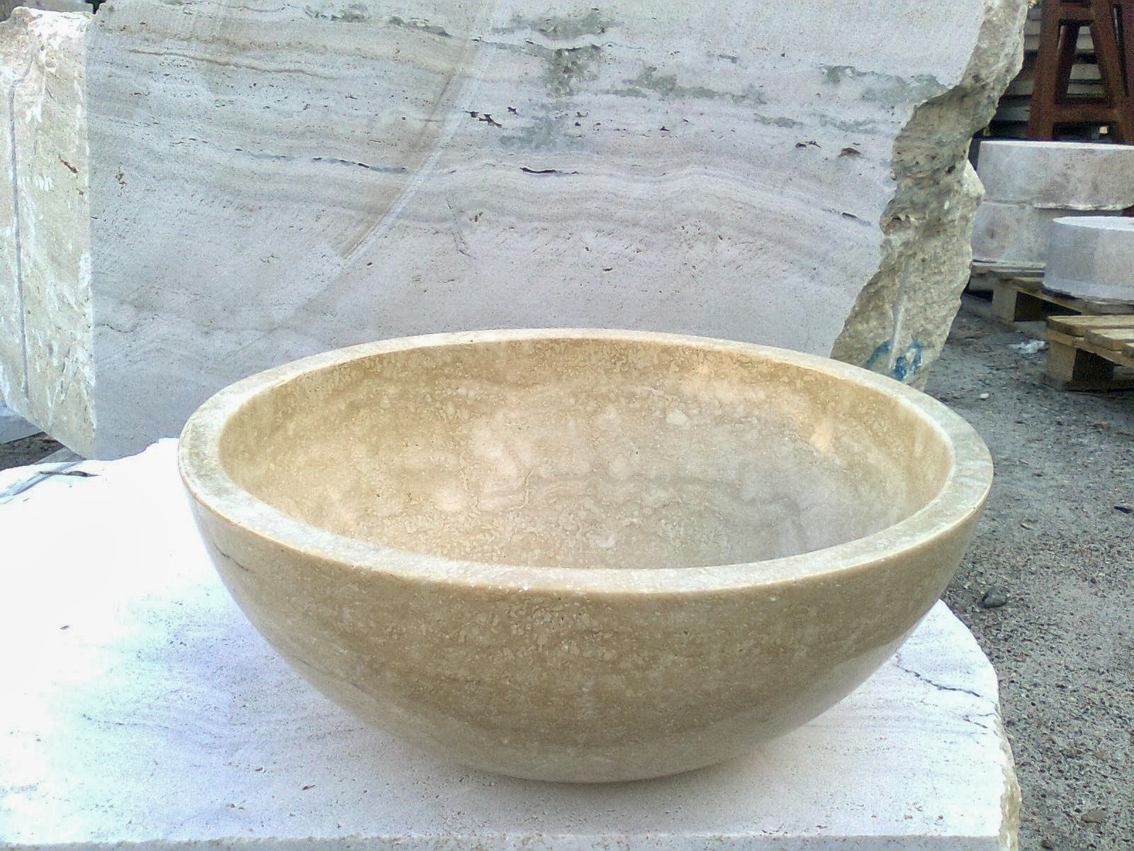 Soares revestimientos lavabos en piedra natural - Encimera marmol precio ...