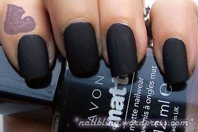 Avon Matte Black Swatch