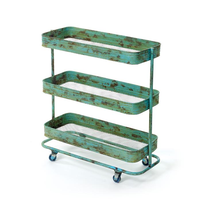 Urban Ladder Kitchen Shelf: The Polished Pebble: Vintage Kitchen Cart Roundup
