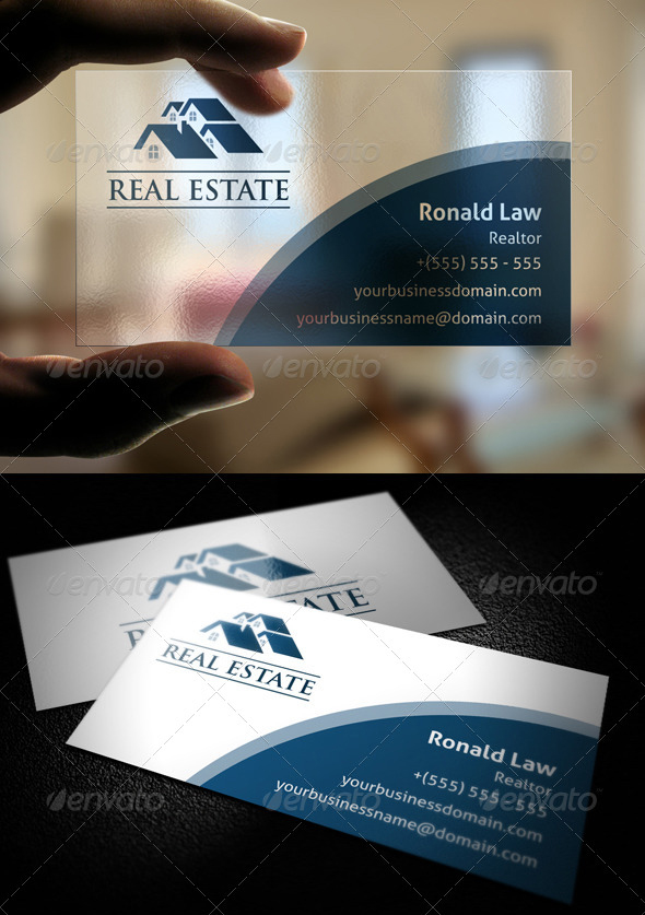 Top Best Real Estate Business Cards Templates Graphicbattle - Real estate business card template
