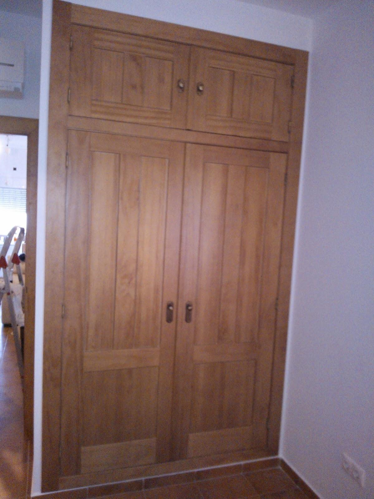 Madera y mueble armario empotrado - Armarios empotrados rusticos ...