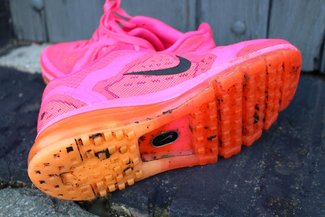 How to clean muddy running shoes
