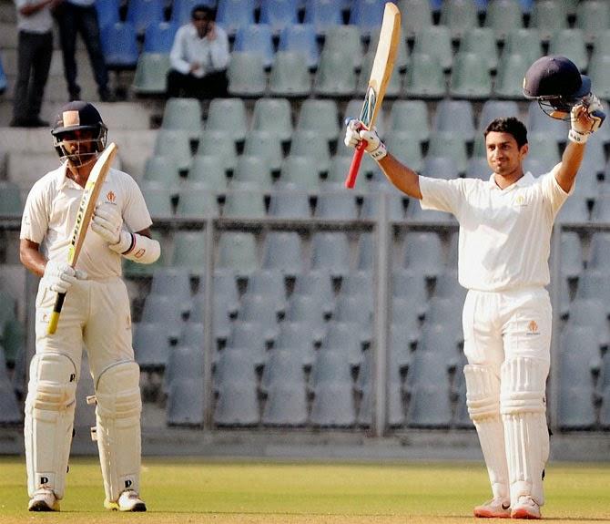Karun Nair triple century, Karnataka v Tamil Nadu, Ranji Trophy 2014-15, final