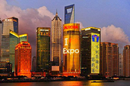 Top 25 destinations in the world: Shanghai, China