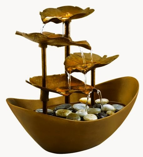 Ken 39 s cyber cave misplaced feng shui fountain can kill you for Water feature feng shui