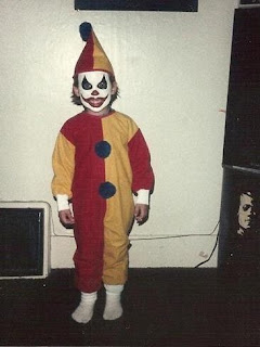 creepy clown kid